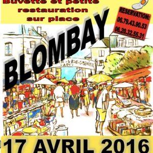 Brocante Blombay 17/04/16 - Rimogne - Communauté de Communes Vallées et Plateau d'Ardenne