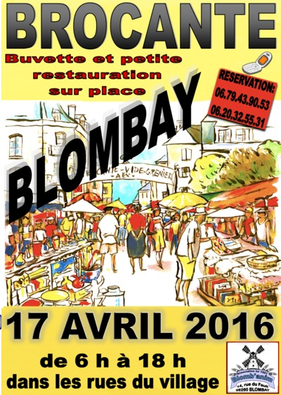 Brocante Blombay 17-04-2016