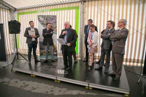 Inauguration d'entreprises à Les-Mazures