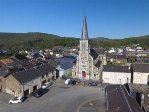Commune de Thilay - Eglise - Vallées et Plateau d'Ardenne