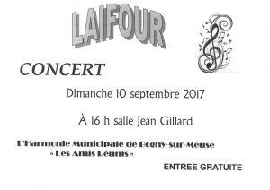 Concert Laifour Salle Jean Gillard